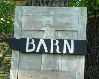 Primitive Painted Barn Sign