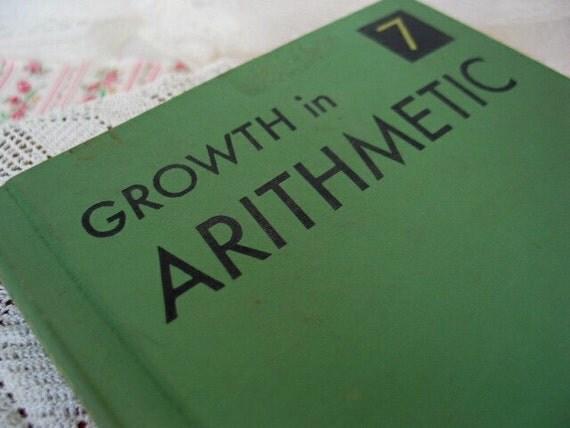 Vintage Arithmetic Book