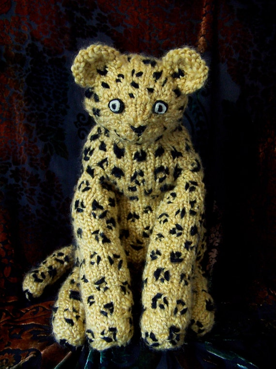 Fabulous Flexible Feline Stuffed Toy - Leopard