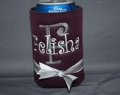ABSD Gig 'em Aggies custom boutique coozie TAMU tailgating never looked so good