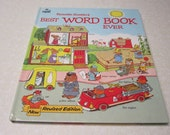 Childrens Book Richard Scarry's Best Word Book Ever
