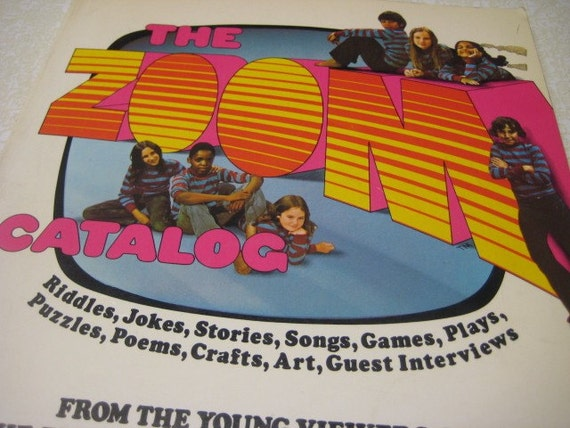 Vintage Zoom Catalog Random House PBS Childrens Television 1972