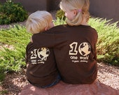 One World Organic T-shirt Youth Size Small SALE