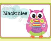 "Personalized ""Hootie Says Hi"" Stationery Set"