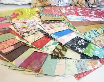 Assorted Floral Envelopes Assortment Set Of 12 Size A2, A6 or Letter