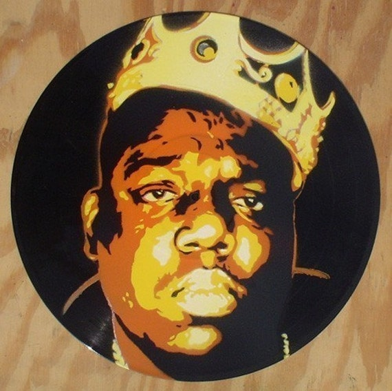 Biggie Painting Original painting of N...