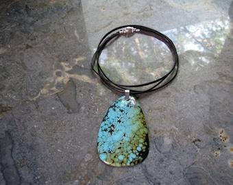 Large  turquoise cabochon