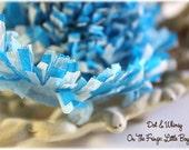 Little Boy Blue --ON THE FRINGE-- Handmade Crepe Paper Fringe