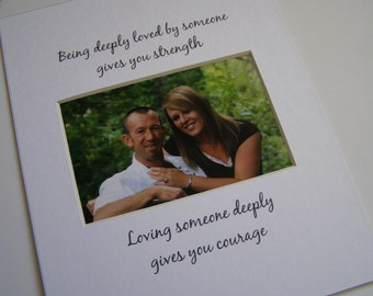 Being Deeply Loved 8 x 10 Picture Photo Mat Design M50