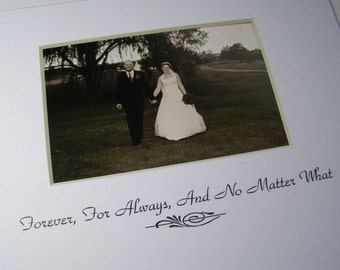 Forever, For Always, And No Matter What Picture Photo Design M51