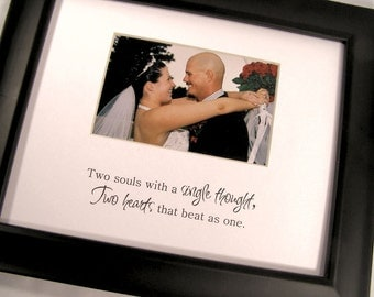 Two Souls With A Single Thought Picture Photo Mat Design M54