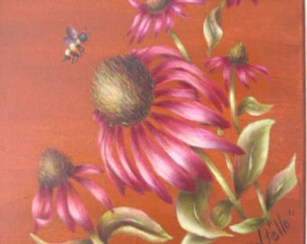 SALE HP Cone Flower and Bee Box