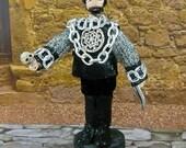 Shakespeare Doll Hamlet in Miniature