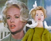 Doll Miniature Tippi Hedren From Alfred Hitchcock's The Birds