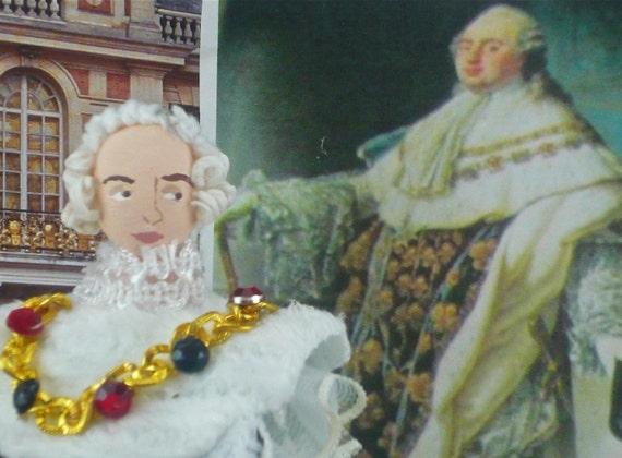 KIng Louis the XVI Miniature Doll