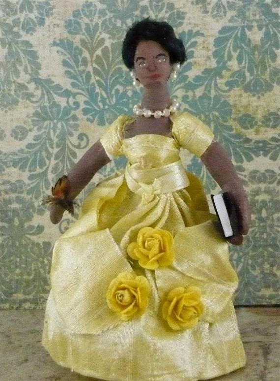 Phillis Wheatley African American Poet Historical Miniature Doll