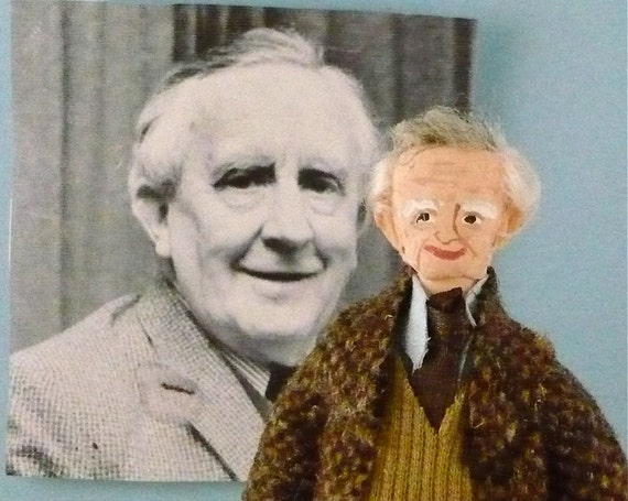 Tolkien Doll Miniature Author Art Character