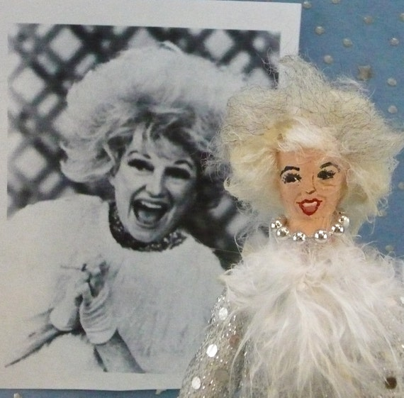 Phyllis Diller Comedian Doll Miniature  Character