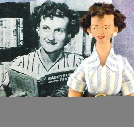 Carolyn Keene Writer Doll Nancy Drew Author Miniature
