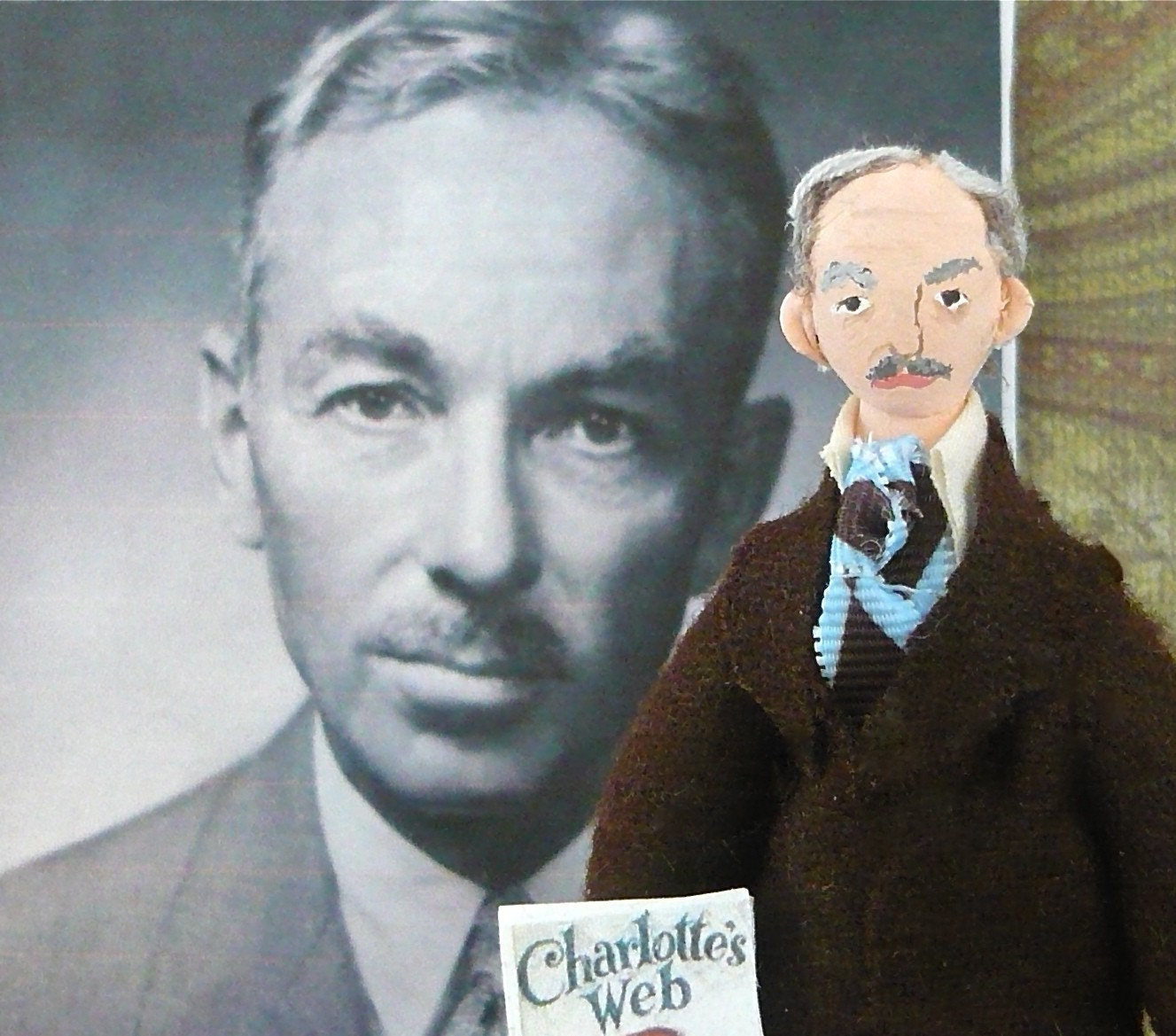 e b white doll miniature author of charlotte s web 128270zoom