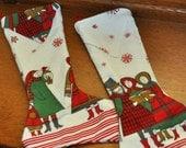 Vintage Stocking Christmas Carolers