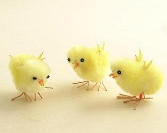 Vintage Chicks Easter Decorations