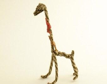 Vintage Miniature Giraffe