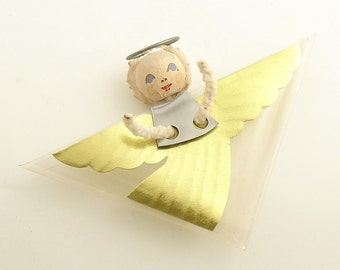 Vintage Christmas Ornament Angel