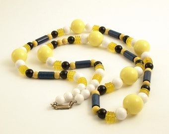 Vintage Necklace Costume Jewelry Mid Century