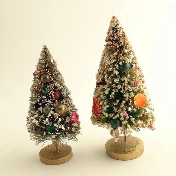 Bottle Brush Trees Christmas