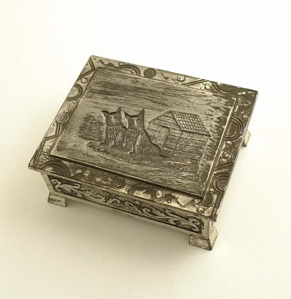 Vintage Scottish Terrier Box