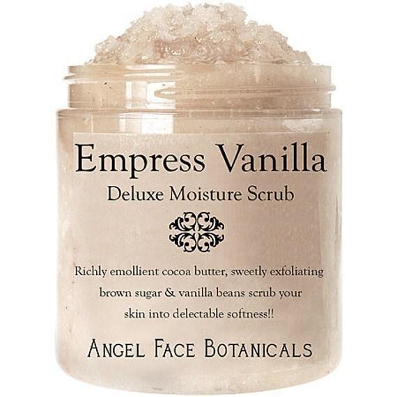 Empress Vanilla Spice - Organic Sugar Crème Emulsifying Body Butter Scrub 10 oz
