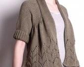 Alice Cardi knitting pattern
