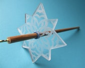 Let It Snow Drop Spindle - Akitla