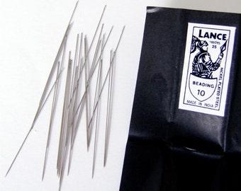 No. 10 Steel Beading needles