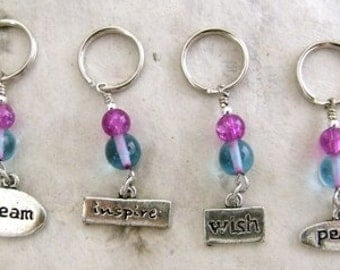 Knitting Stitch Markers - Set of 4
