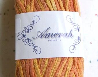 Amerah Silk Yarn - Cantaloupe