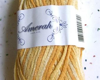 Amerah Silk Yarn - Citrus