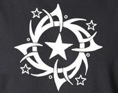 Full of Stars - Gifts for Brothers, Dads, Men - The Tattoo Collection - black - mens tshirt