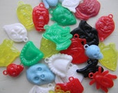 Scary Plastic Charms