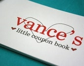 Coupon Book for Your Love