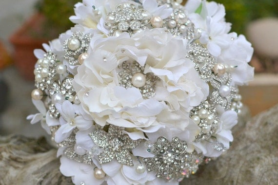 wedding bouquet bling unavailable listing on etsy 8443