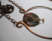 Autumn Waterfall Necklace