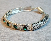 Reserved for simo60 Emerald Crystal Bracelet