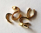 4mm Gold Plated Wire Guardians, Pack of 100 *CLEARANCE*