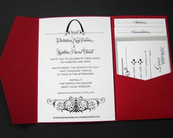 Customizable Meet Us In St. Louis Invitation Suite