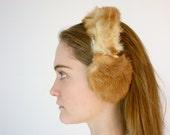 1950s Earmuffs - 50s Fur Ear Muffs