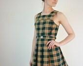 1960s Dress - 60s Schoolgirl Dress