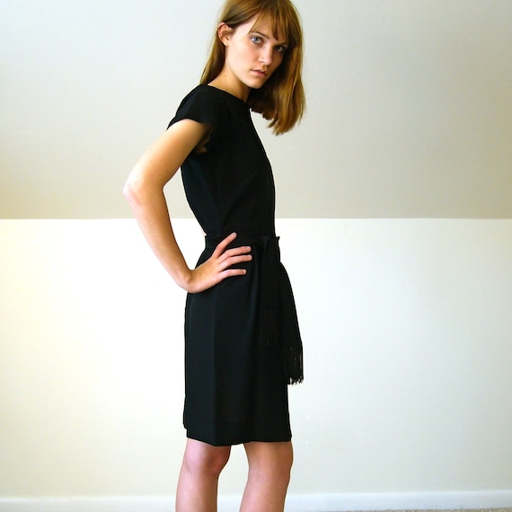 1950 S Little Black Mini Dress Lbd