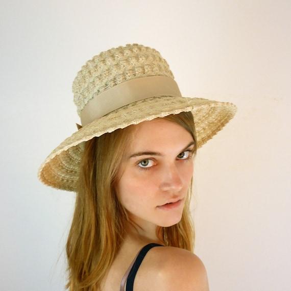 1960s Hat / Vintage Sun Hat